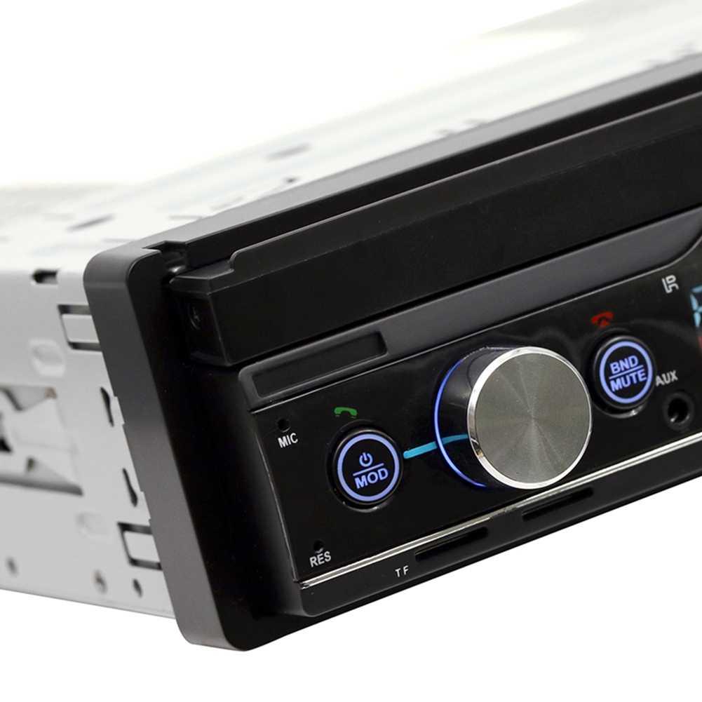 7-дюймовый выдвижной Mp5 карты плеер Mp4 плеер Bluetooth перевернутое изображение для Mp3 радио