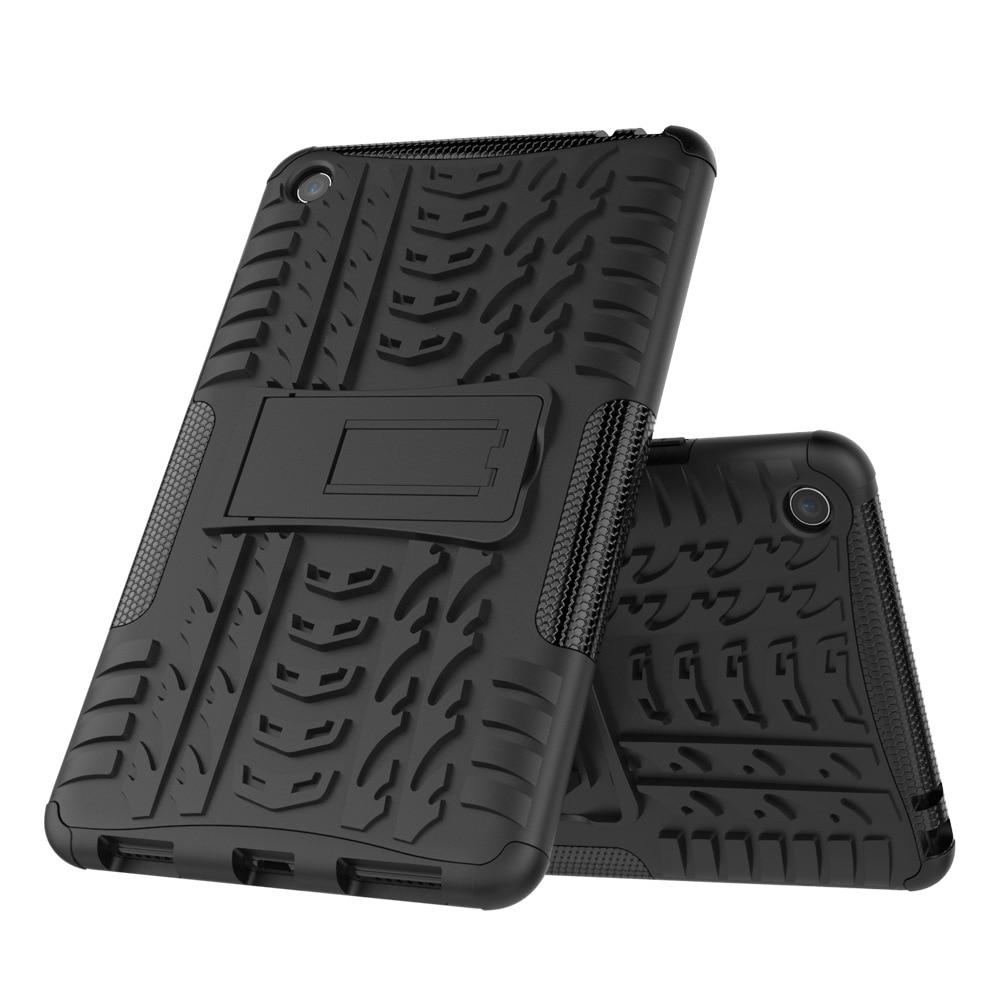 Conelz para xiao mi mi almofada 4 caso híbrido à prova de choque escudo protetor dupla camada pára-choques com/suporte capa