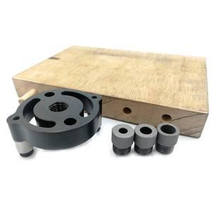 Image 4 - עצמי מרכוז 6 8 10mm מסמרת לנענע עץ פנל אגרופן חור איתור אשור מרכזי Holing עמדות מדידה תרגיל נגרות