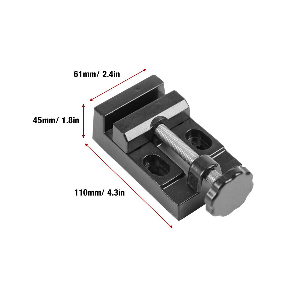Mini Flat Clamp Bench Vise Aluminum Alloy Drill Press Vice Carving Tools HighQ