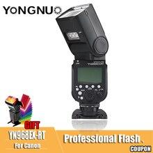 YONGNUO YN968EX-RT YN968 EX RT Flash speed lite Высокоскоростная синхронизация ttl Беспроводная для Canon 5 DIII 6D 7DII 60D 1100D 1200D 1000D700D