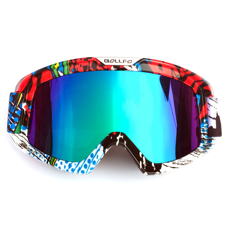2018 Hot Sale Motorcycle Goggles Knight Equipment Cross-country Goggles Windbreak Glasses Resist Twist  Skiing Goggles Free Ship