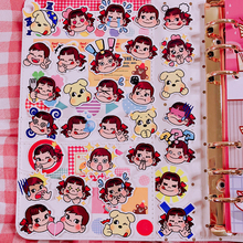 32Pcs/Pack Q Version Child Stickers Cute Hand Account Sticker For Luggage Laptop Phone Notebook Pegatinas Gift