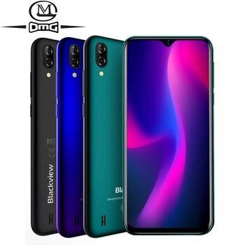 Перейти на Алиэкспресс и купить Blackview A60 Смартфон Android 8,1 4 ядра 4080 мАч 1 Гб + 16 Гб мобильный телефон 6,1 дюймов 19,2: 9 Экран двойной Камера 3G сотовые телефоны