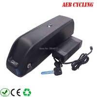 Kostenloser Versand Li-Ion Wiederaufladbare 36 v 48 v 52 v Elektrische fahrrad batterie 10ah 10.5ah 11.6ah 12ah 13ah 14ah 15ah 16ah 17ah Ebike pack