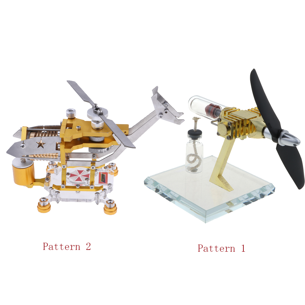 2 комплекта воздушный винт модель двигателя Стирлинга генератор физический двигатель мощность паровое отопление обучающая игрушка