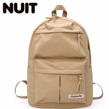 Woman Nylon Backpack Bag High School College Bags Students Campus Both Shoulders Women Large Capacity