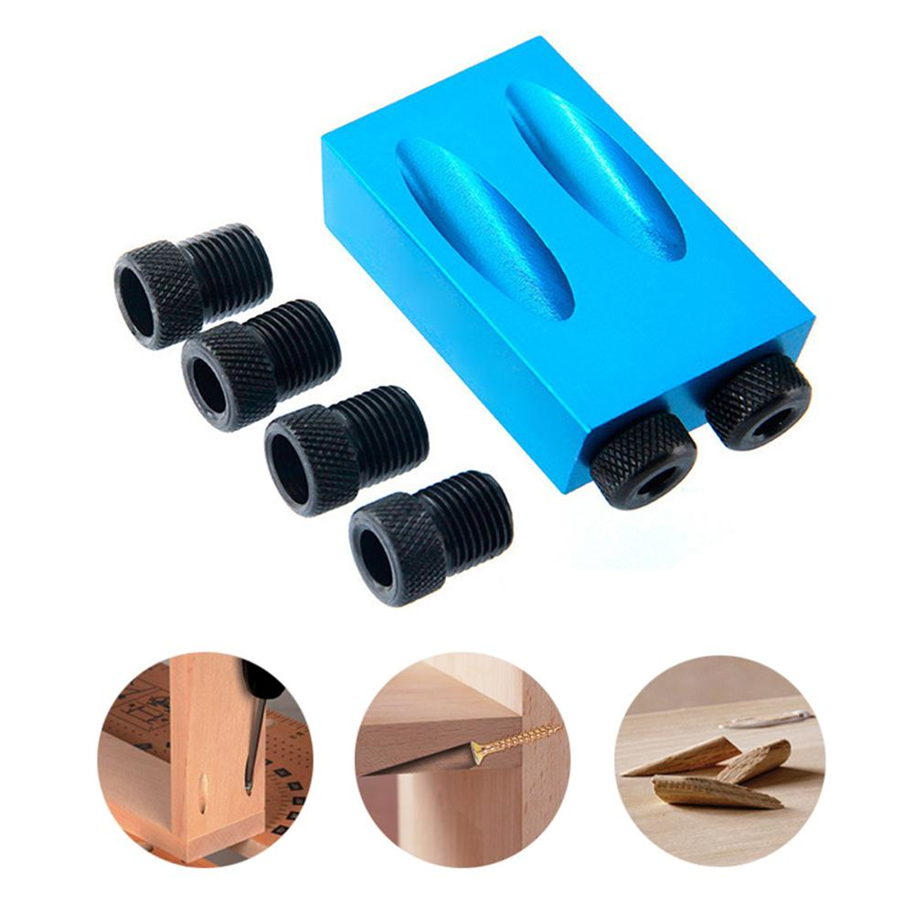 M6-M10 Oblique Hole Drill 15 Degree Angle Locator Metal Woodworking Hand Tools
