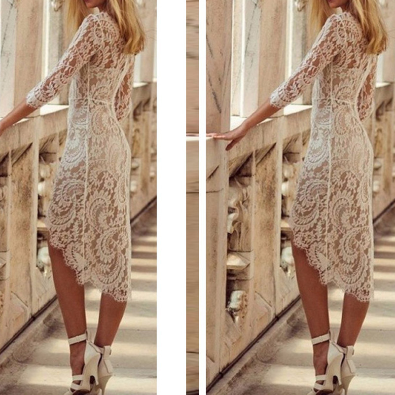 MUXU white lace sexy dress women vestidos vestido party summer dresses ukraine bodycon elegant dress clothes elbise jurken 2019 in Dresses from Women 39 s Clothing