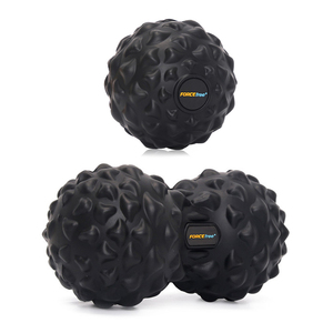 Massage Ball PU Peanut Lacrosse Mobility Balls Fitness Ball Muscle Fitness Balls Set Workout Relax Yoga Fitness Physical Therapy