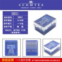 100 шт./лот Schmetz ИГЛЫ для промышленной швейной машины Canu: 14:25 1 DBX1 SUK SES 16x231 1738 нм: 65 Размер: 9
