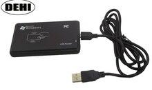 10 قطع USB قراءة 8 أرقام RFID القراء تلامس القرب بطاقة الذكية 125 كيلو هرتز EM4100 TK4100 قارئ