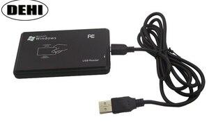 Image 1 - 10 cái USB Đọc 8 chữ số RFID Độc Giả Không Tiếp Xúc Proximity Thẻ Thông Minh 125 khz EM4100 TK4100 Đầu Đọc
