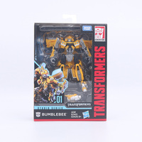 Transformers Toys Deluxe Class Movie Deformable Robot Car bee Ratchet Crowbar Decepticon Stinger Collection Model Dolls