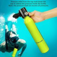 Mini Scuba 500ml Potable Diving Equipment Mini Scuba Diving Cylinder Scuba Diving Oxygen Tank For 7 10min