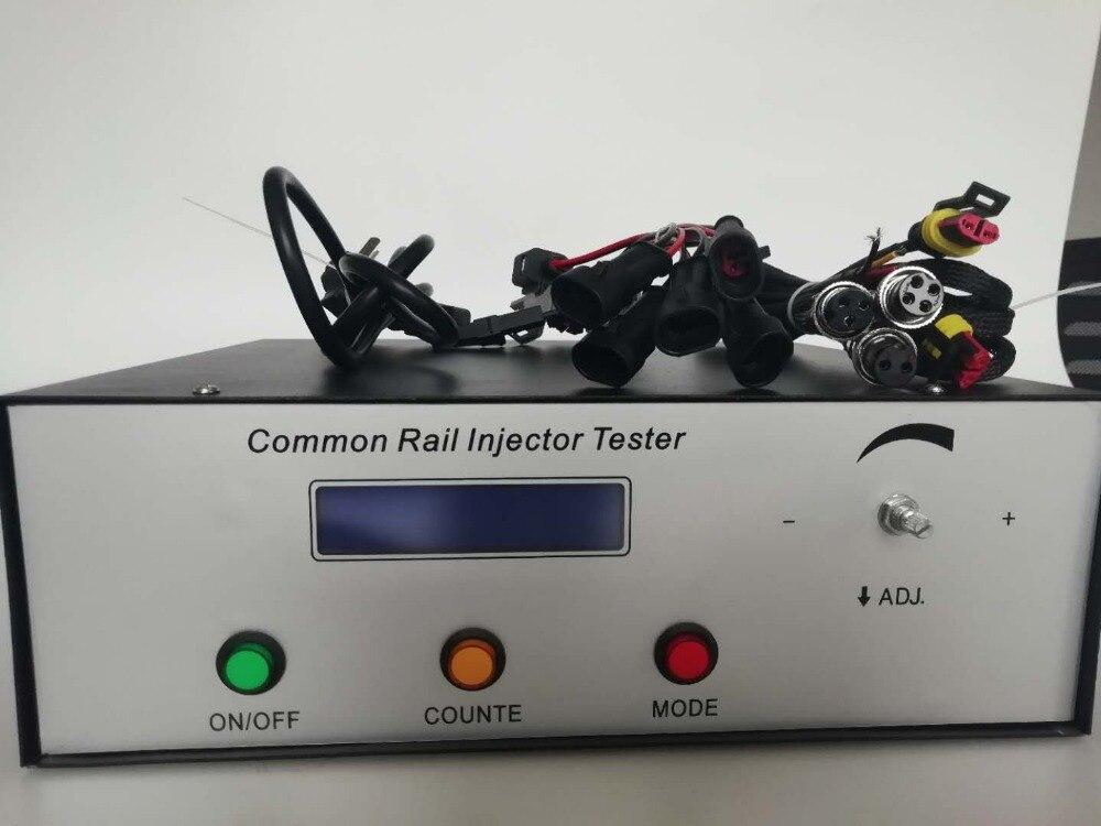 Cri200 Diesel Hogedruk Common Rail Injector Tester & S60h Mondstuk Validator Een Hele Set Common Rail Injector Tester Kit Laatste Mode