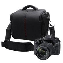 DSLR камера сумка мода полиэстер сумка для камеры чехол для Canon для Nikon объектив сумка водостойкая фотография Фото Сумка