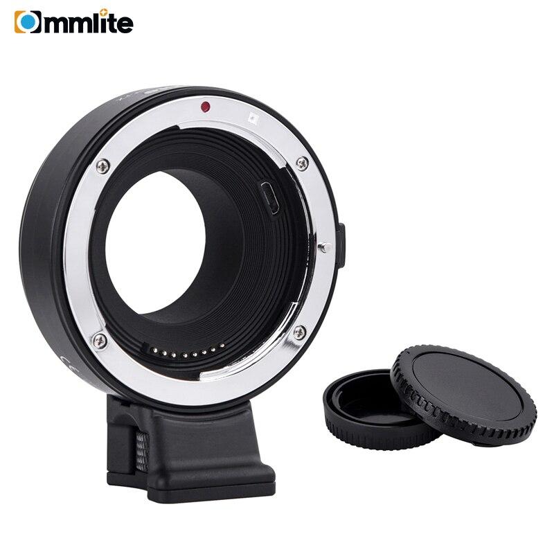 Adaptateur de monture d'objectif à mise au point automatique électronique Commlite EF FX pour objectif Canon Tamron Sigma à utiliser pour les appareils photo sans miroir Fuji film FX-in Objectif Adaptateur from Electronique    1