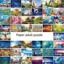 Adult Puzzle Kids Jigsaw Landscape Puzzles Noctilucent Educational Toys For Children Fluorescent Gift