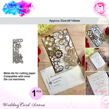 1 pcs Meet Huang Lace Metal Cutting Dies Steampunk Borders Craft Cuts for DIY Scrapbooking Embossing Paper card making
