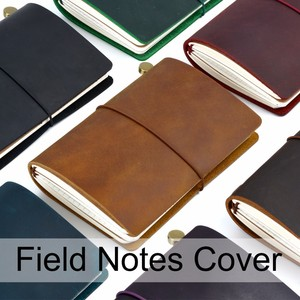Image 1 - New Arrivals Field Notes Journal Cover Genuine Leather Notebook Planner Handmade Travel Agenda Pocket Diary Vintage Stationery