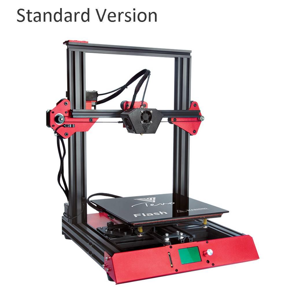 TEVO Flash 98% 3D Imprimante kit imprimante 3d impression Entièrement En Aluminium Cadre Machine D'impression