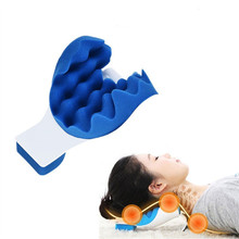 New Solid Neck Shoulder Relaxer Neck Pain Relief Massage Pillow Neck Support Soft Pillow neck pillow neck shoulder revitalizer pillow neck shoulder rest back spine support neck relaxing ease massage support cushion