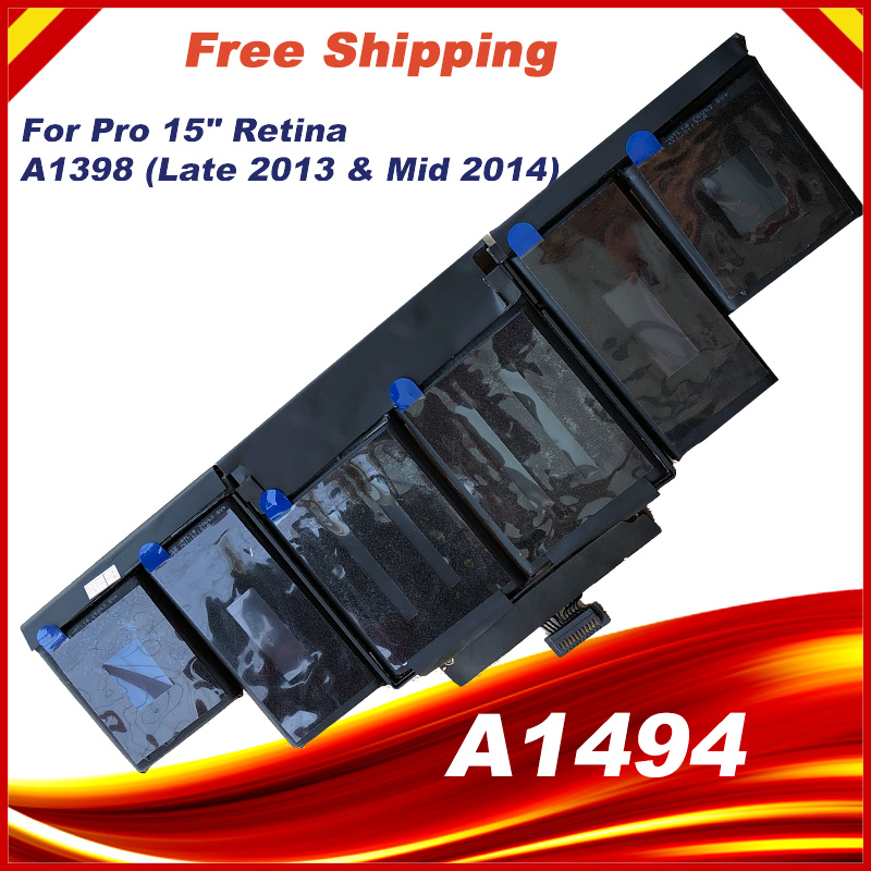 """95Wh 11.26V A1494 Battery For Apple Macbook Pro 15"""" Inch ..."""