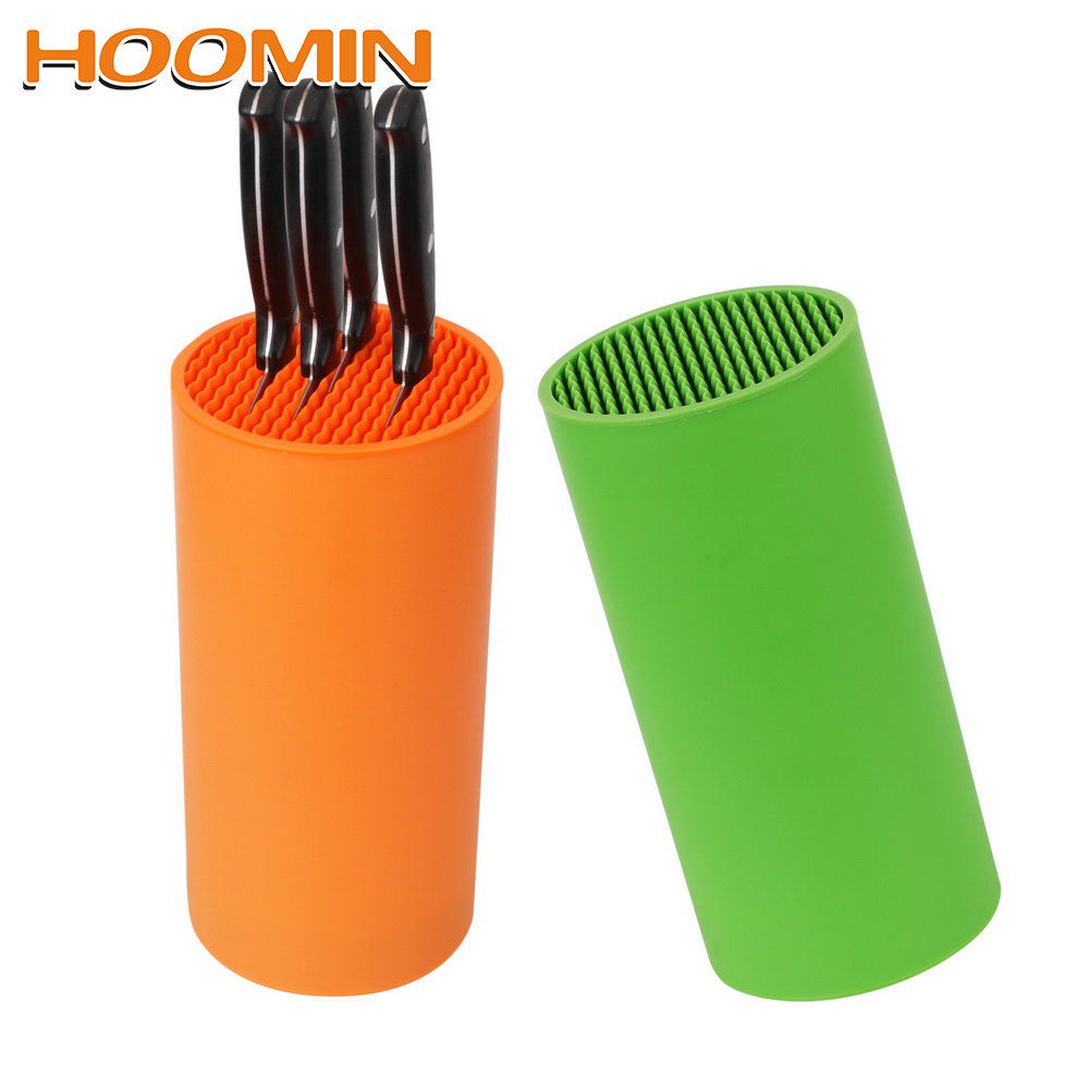 HOOMIN Kitchen Bar Knife Storage Block Knife Tool Holder Rack Knife Stand Organizer Cooking Tools Kitchen Accessories