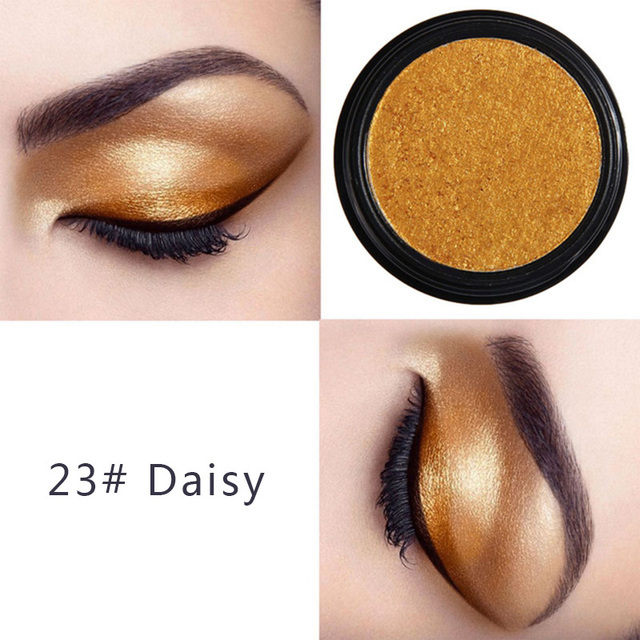 PHOERA Metal Eyeshadow Makeup Palette Red Black Color Glitter Eye Shadow Natural Eyes Make Up maquillage TSLM2 4