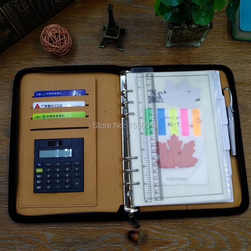 Great Källa 2019 planerare A5 notebook dagordning med kalkylator med - Block och anteckningsböcker - Foto 5