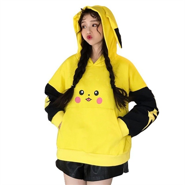 Pokemon Pikachu Anime Kawaii Hoodies