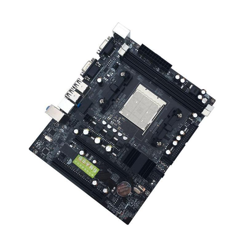 Ordinateur Carte Mère Pour Nvidia C68 C61 Pour AM2 AM3 CPU DDR2 DDR3 Carte Mère 1333 MHz IDE 6 canal puce sonore pour AMD SATA2.0 USB