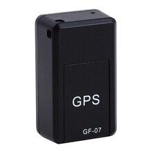 Горячая-мини в реальном времени Портативный GF07 магнитное отслеживающее устройство GPRS Определитель местоположения Глобальный трек запрос записи Анти-потери устройство