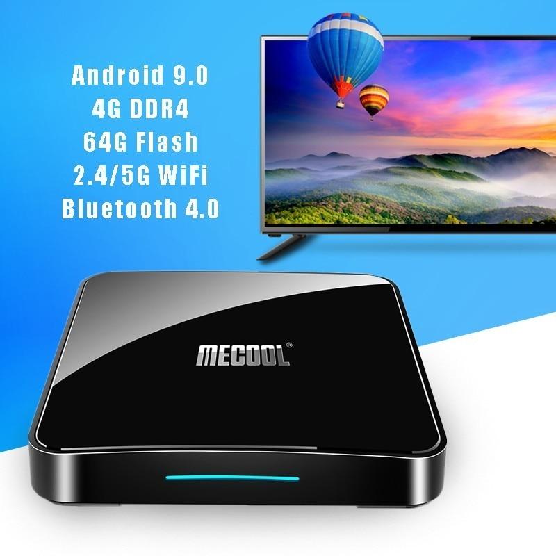 Mecool KM3 ATV Smart Android 9 0 TV Box 4g 64g 4k HDR Google Home Play