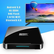 Get more info on the Mecool KM3 ATV Smart Android 9.0 TV Box 4g+64g 4k HDR Google Home Play Cast USB 3.0 Media Player Voice Control IPTV Set-top Box