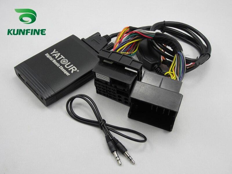 Автомобильный адаптер YATOUR AUX, MP3, SD, USB, музыкальный CD адаптер, разъем для NISSAN Pathfinder Primera Qashqai Teana Tiida X Trail Radio - 5