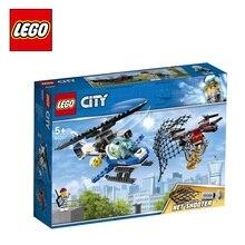 Конструктор LEGO City Police 60207 Воздушная полиция: погоня дронов