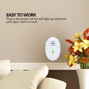 Image 5 - Nieuwe Ultrasone Muggenspray Us Plug 13.3X6.4X8.7cm Anti Mosquito Voor Thuis Abs Mosquito Killer Lamp Voor Tuin
