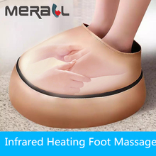 Electric Foot Massager Machine Shiatsu Massage Heated Foot Roller Massager Vibration For Parents Perfect Gift Health Care Masaje цена 2017