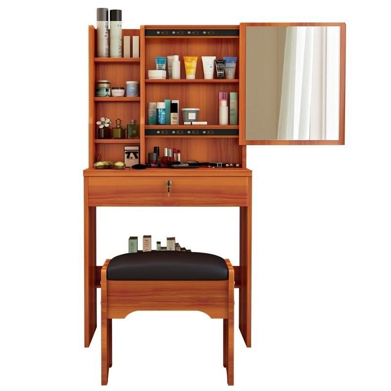Ensemble De chambre à coucher en bois coréen Quarto Table De meubles Penteadeira