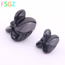 New Material ABS Catch Mix Children Hairpin Seven Tooth Hair Special Heat Sell High Quality Engineering Strength