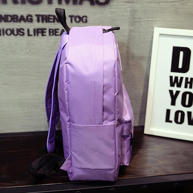 Women Holographic Silver Diamond Backpack for Teenage Girls Canvas Backpack Female Men Laptop waterproof School Bags Mochila in Backpacks from Luggage Bags