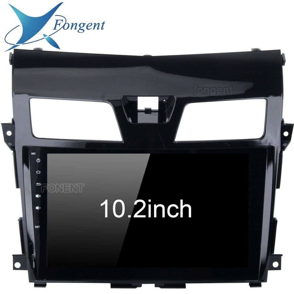 1 din Radio Tape for Nissan Altima Teana Multimedia 2013 2014 2015 Android head unit 10.2IPS Touch Screen GPS Navigation Stereo image
