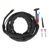 Hot Metal Welding Torch Air Cooled Welder M16 for QQ150 3.7m/12ft Shield Cup Electrode M16 Set Tig Torch Kit new style