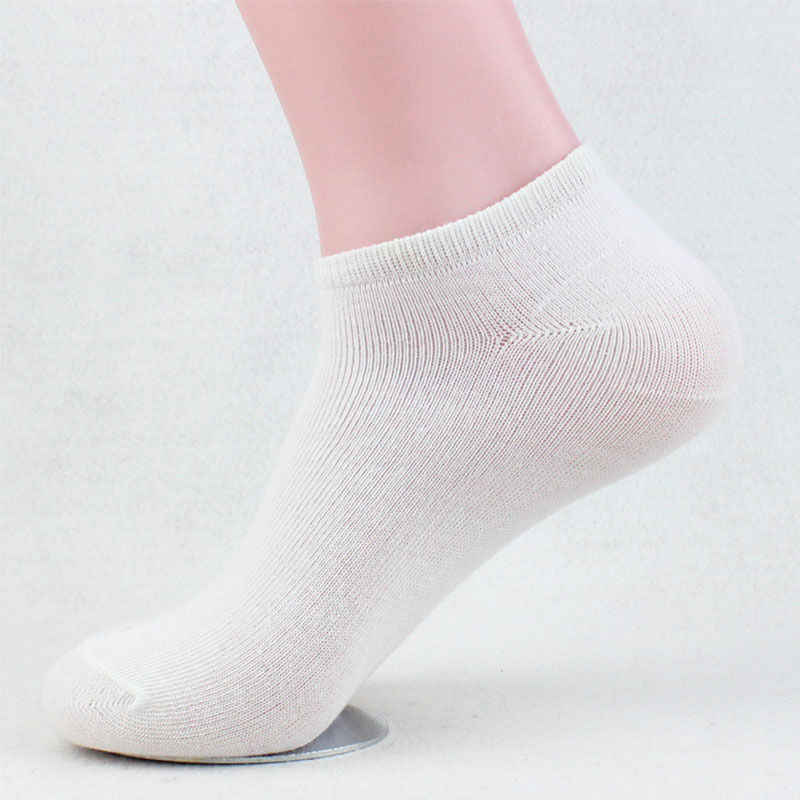 0a4d19797 ... 2 Pairs Summer Men Ankle High Socks Stylish Mens Boys 100% Cotton  Flexible Stretchy Casual ...