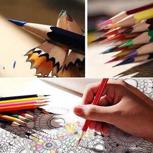 24/36/48/72 цвет s масляный цветной карандаш цветная свинцовая кисть водорастворимый Набор цветных карандашей ручная краска ed школьные принадле...