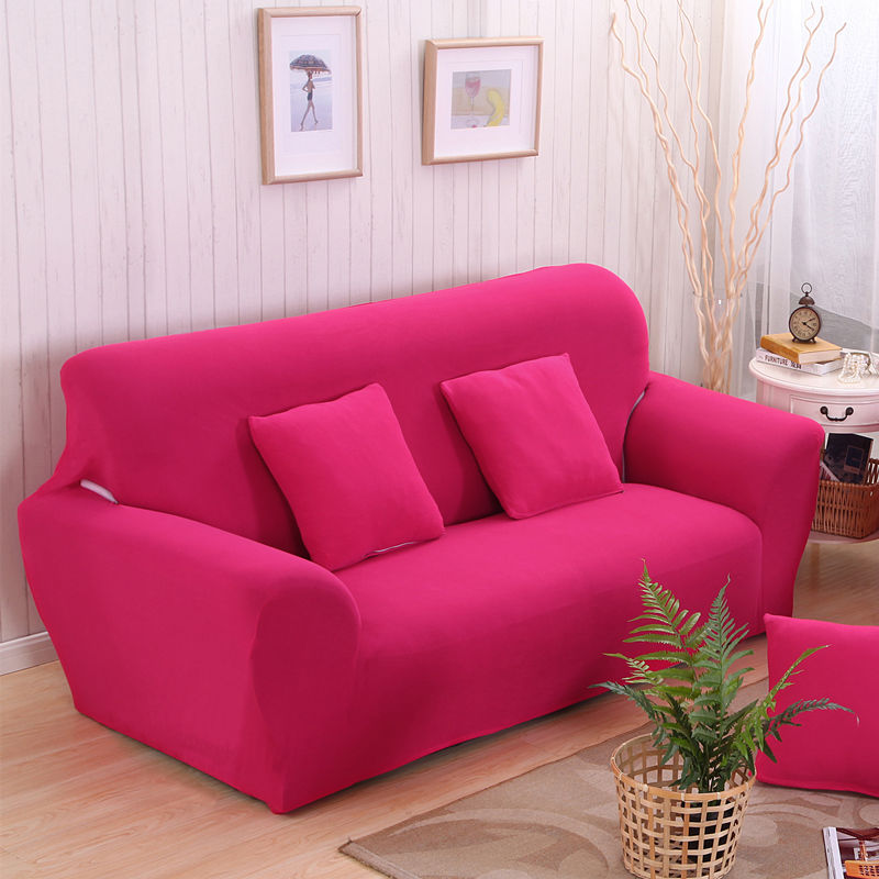 Solid Sofa Seat Cover Towel 1/2/3/4-seater Slipcovers Sofa Sectional Couch Covers sofa covers for living room modern