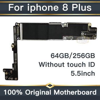 without Touch ID for iphone 8 Plus Motherboard with clean iCloud, 100% Original unlocked for iphone 8 Plus 8p Logic board+Chips
