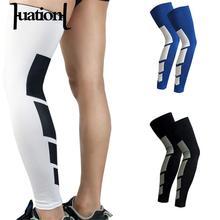 Lengthen Knee Pads High Stretch Tights Brand Mens Compression Socks Super Elastic Leg Warmers Stretch Socks